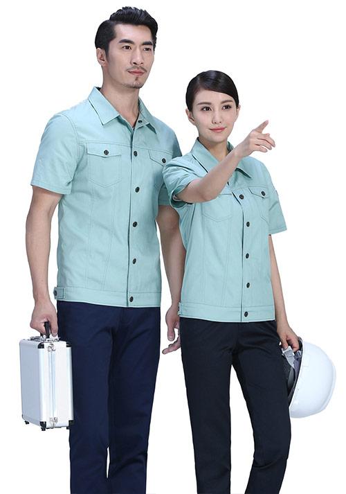 豆绿时尚工作服