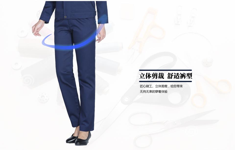 铁灰色春秋季涤棉工装裤