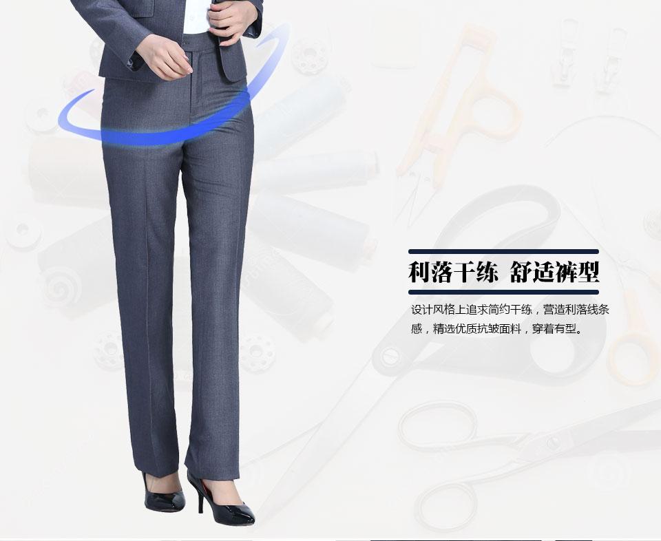 新款黑色女士西裤