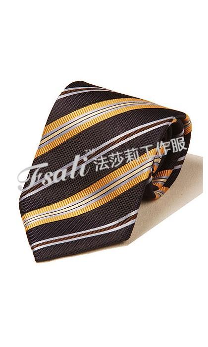 100%桑蚕丝斜纹领带定做