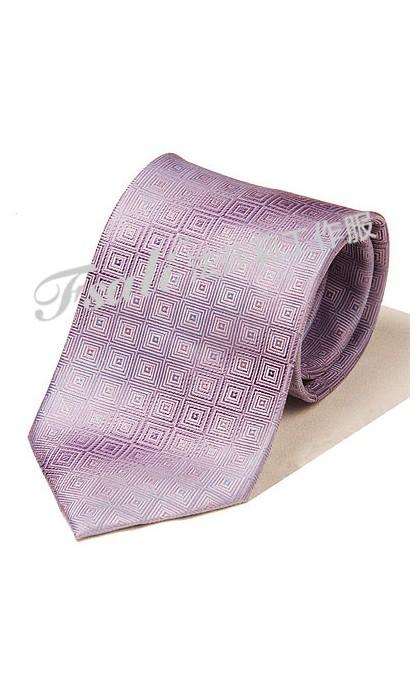 定做100%桑蚕丝提花领带